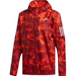 Photo of Adidas Men's Own the Run Camouflage Jacket, size S in red adidasadidas