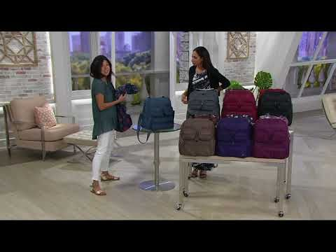 7d0381e18 (106) Lug Puddle Jumper Travel Bag with Packable Carry-All on QVC - YouTube