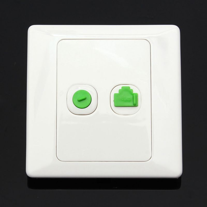New Arrival Best Price Electric RJ45 Network + TV Aerial Socket ...