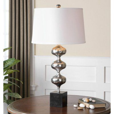 Uttermost Cloelia 26185 Polished Silver Table Lamp - 26185