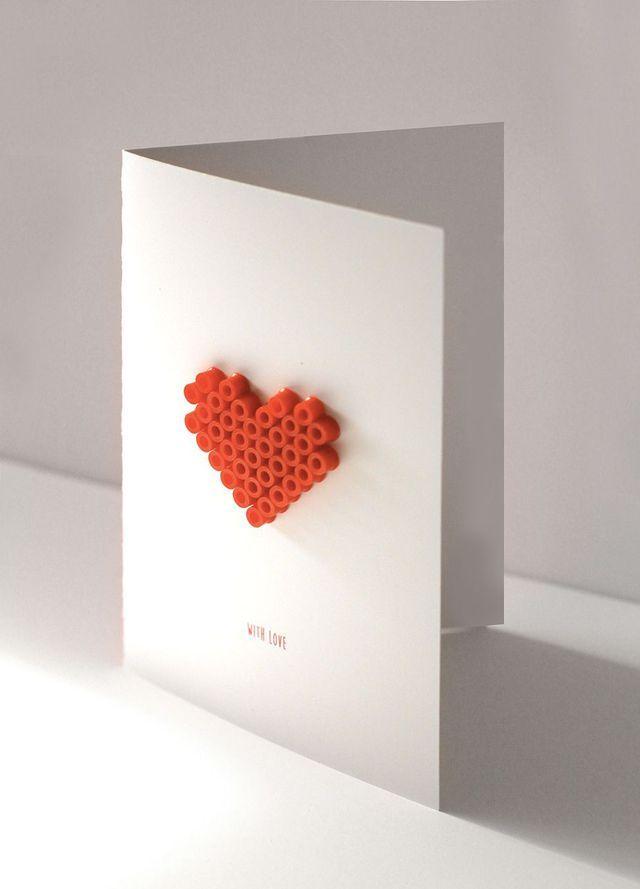 DIY carte saint valentin  5 modèles à faire soi-même Atelier