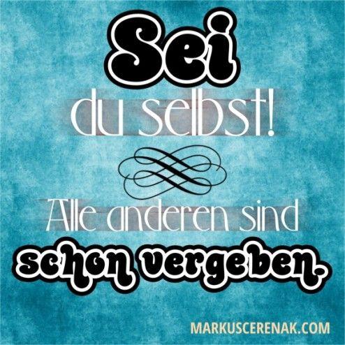 Weise Worte... - http://www.markuscerenak.com/weise-worte.html