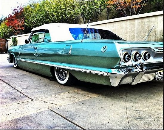 Catching Up With Travis Barker Tattoos Rides Impala Chevy Impala Chevy
