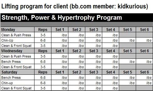 hypertrophy workout program try this cool site for more