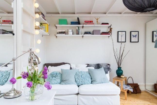 Vivir En 16 Metros Cuadrados Sería Posible Decoración De Unas Puertas Interiores De Vidrio Diseño De Interior Para Apartamento