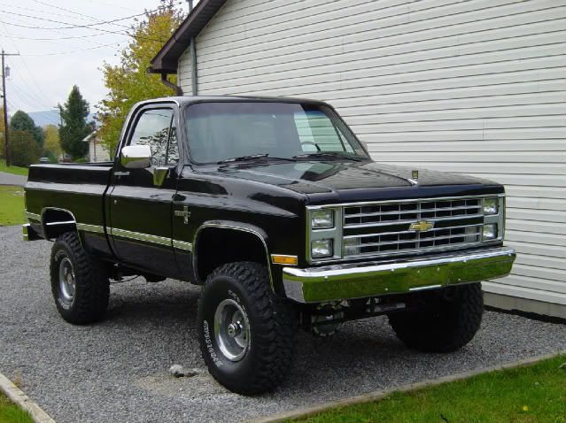 83 Chevy K10 Things I Want Pinterest Cars