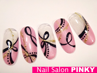 新春デザインサンプル★MYネイルの画像 | PINKY's nailog