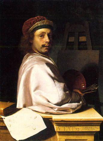 Mieris, Frans van (1635-1681) - 1667 Self Portrait