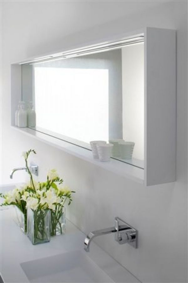 Bathroom Mirror Shelves Awesome Wooden