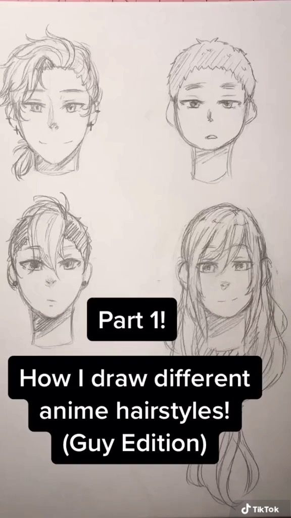 Tiktok Face Drawing How To Draw Hair Anime Drawings