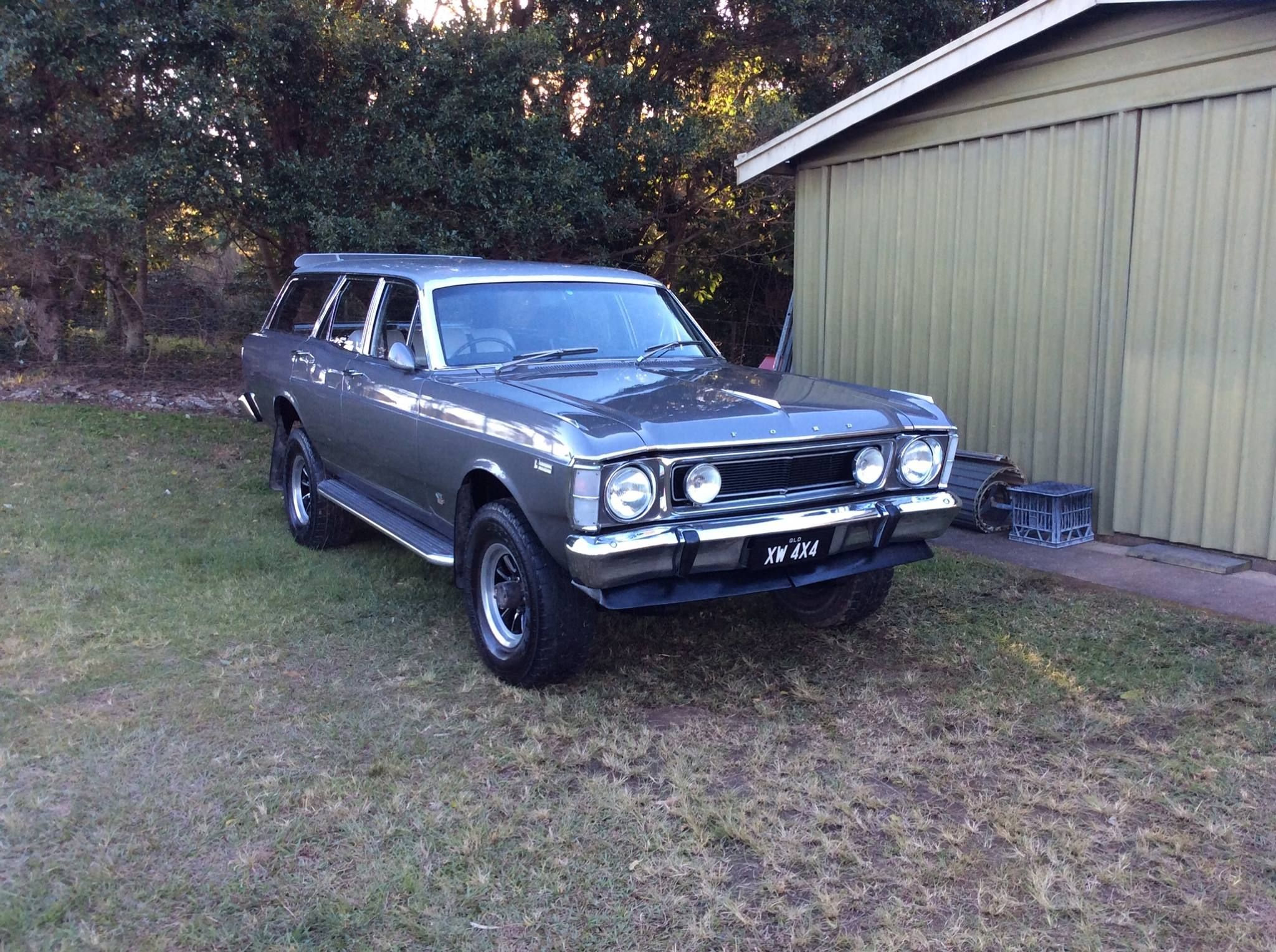 Xw Fairmont Wagon Old Fords Pinterest And Ford