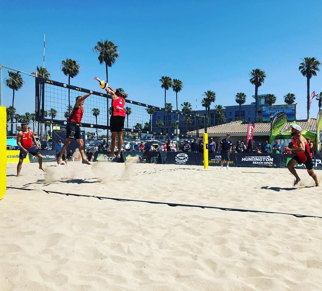 Casey Patterson Down The Line Absolute Ninjas Out Here Avp Fivb Huntingtonbeach In 2020 Casey Patterson Huntington Beach Patterson