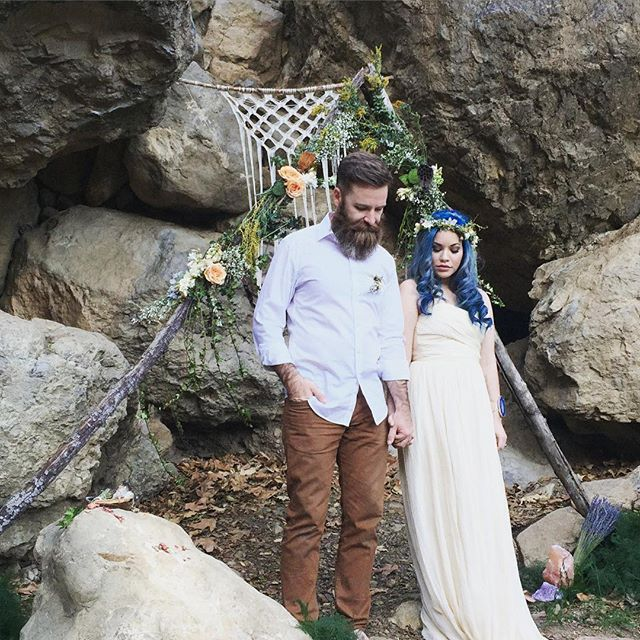 Beautiful #recommitment ceremony in #malibu.  Dress is J Crew Arabelle available at www.adinasbridal.com