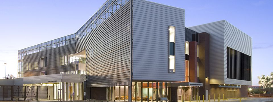 University Of Arizona Medical Center South Campus Behavioral Health Pavilion Crisis Response Hospital Design Health Center Architecture University Of Arizona