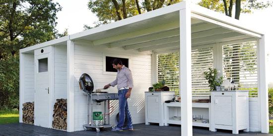 25 outdoor k che berdachung bilder die besten 25 uberdachung terrasse ideen auf pinterest. Black Bedroom Furniture Sets. Home Design Ideas
