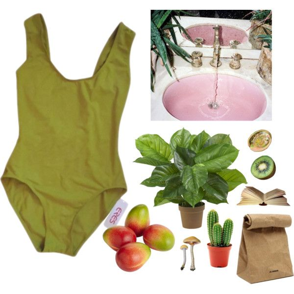 tropical babe by bayleykate on Polyvore