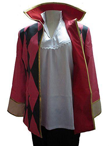 Generic Howl's Moving Castle Howl Cosplay Costume Full set (Custom made) Generic http://www.amazon.com/dp/B0132D9QNS/ref=cm_sw_r_pi_dp_5TqXvb0N3CMQE