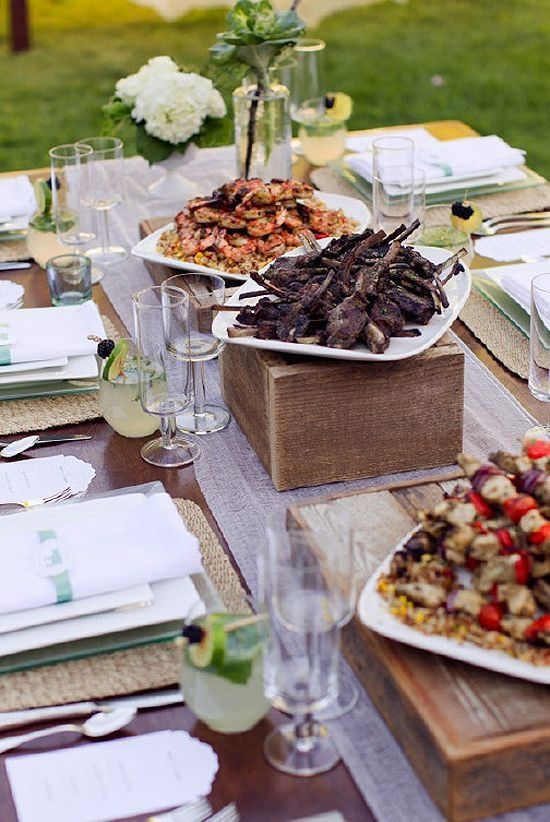How to DIY a Family Style Dinner for Your Wedding Reception https ...