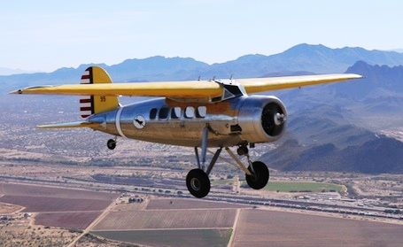 Lockheed Vega NC12288 the sole survivor of just 9 examples of the DL-1 series built by the Detroit Aircraft Corporation for Lockheed (1933) owned by John Magoffin (Francois Bergeon 2013)