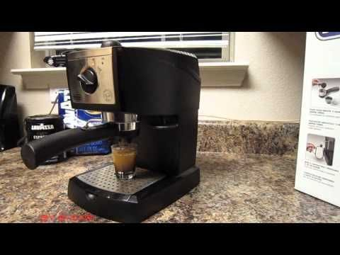 DeLonghi EC155 Espresso Maker How to make espresso coffee at home - YouTube #espressoathome DeLonghi EC155 Espresso Maker How to make espresso coffee at home - YouTube #espressoathome