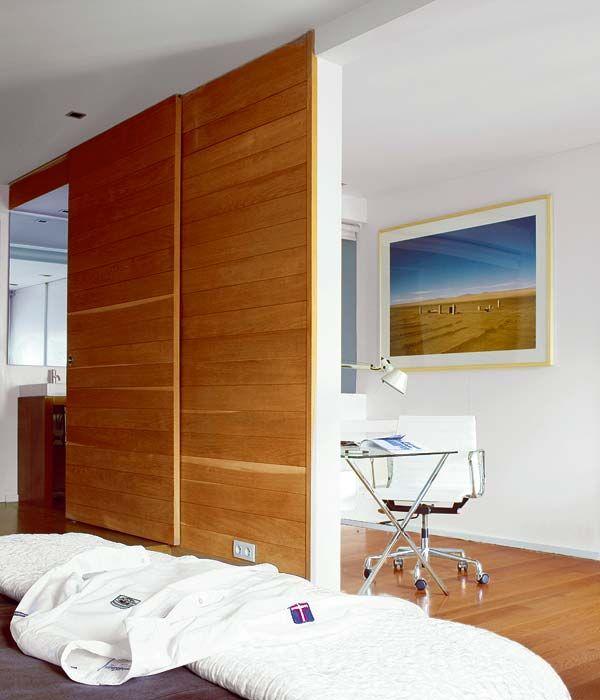 Tabique madera ambientes pinterest revistas de decoraci n ventana y revistas - Tabiques de madera ...