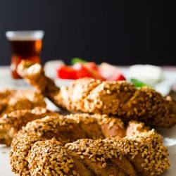 Turkish Simit by giverecipe