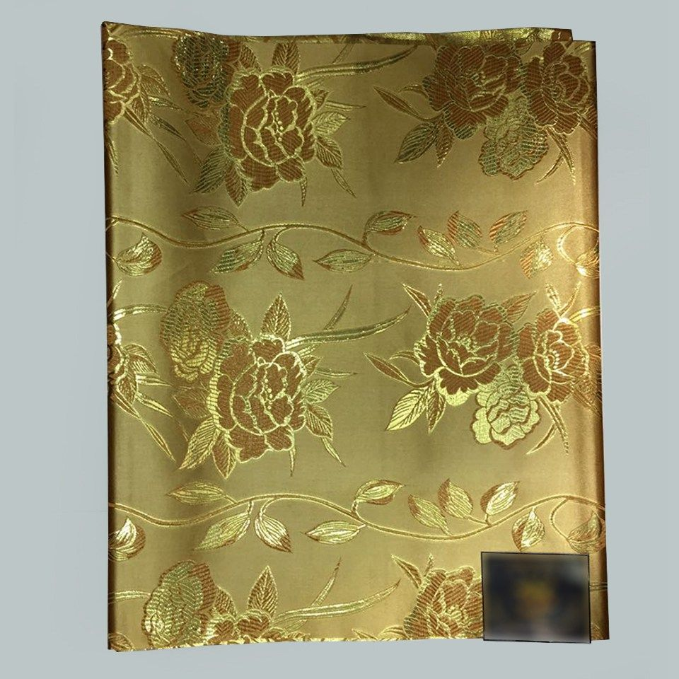 Find More Fabric Information about gold wrapping fabric,African ...