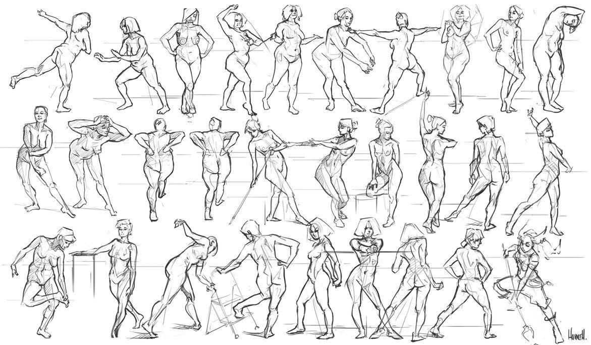 251_figure_studies_by_skence-d93t406.png (1171×683) | ART — Anatomy ...