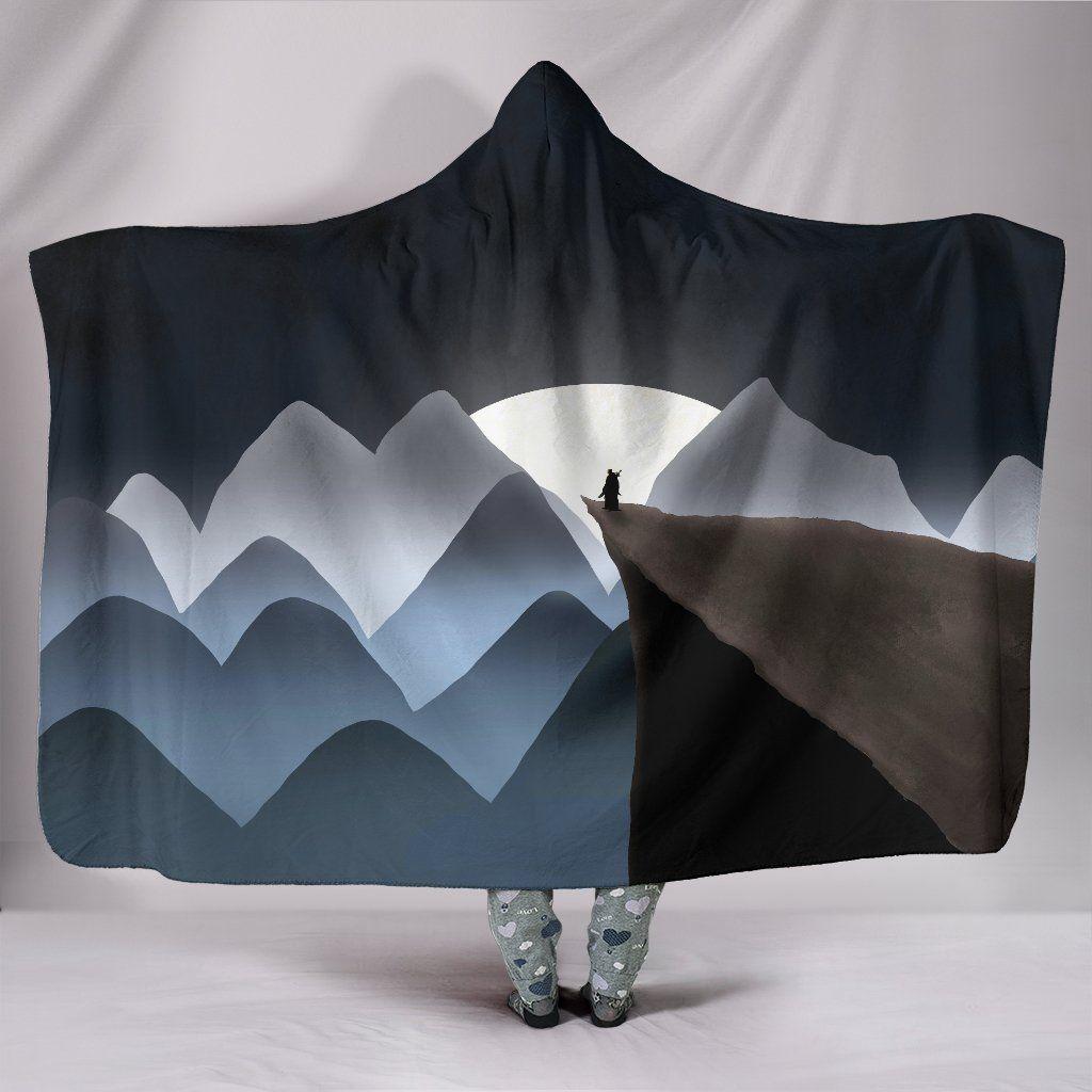 Photo of Moonlit Soldier – Hooded Blanket – Moonlit Soldier / Adult 80×60