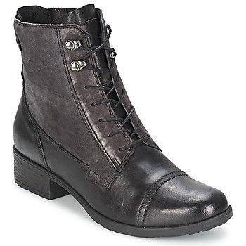 eb5c07127e5ed Botines de caña baja para mujer con cordones y cremallera lateral Clarks.  Fáciles de poner y bonitos.
