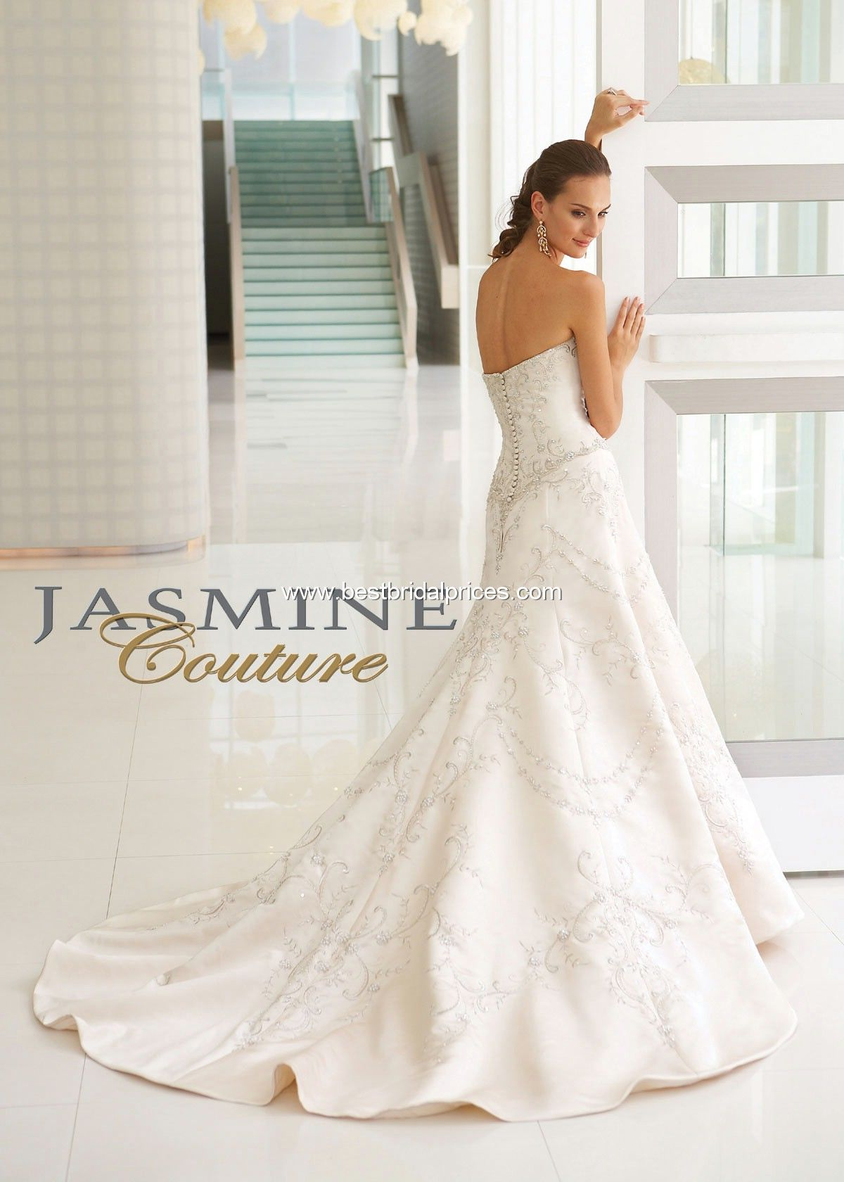 46297cd8c58 Jasmine Couture Wedding Dresses - Style T244  T244    Wedding Dresses