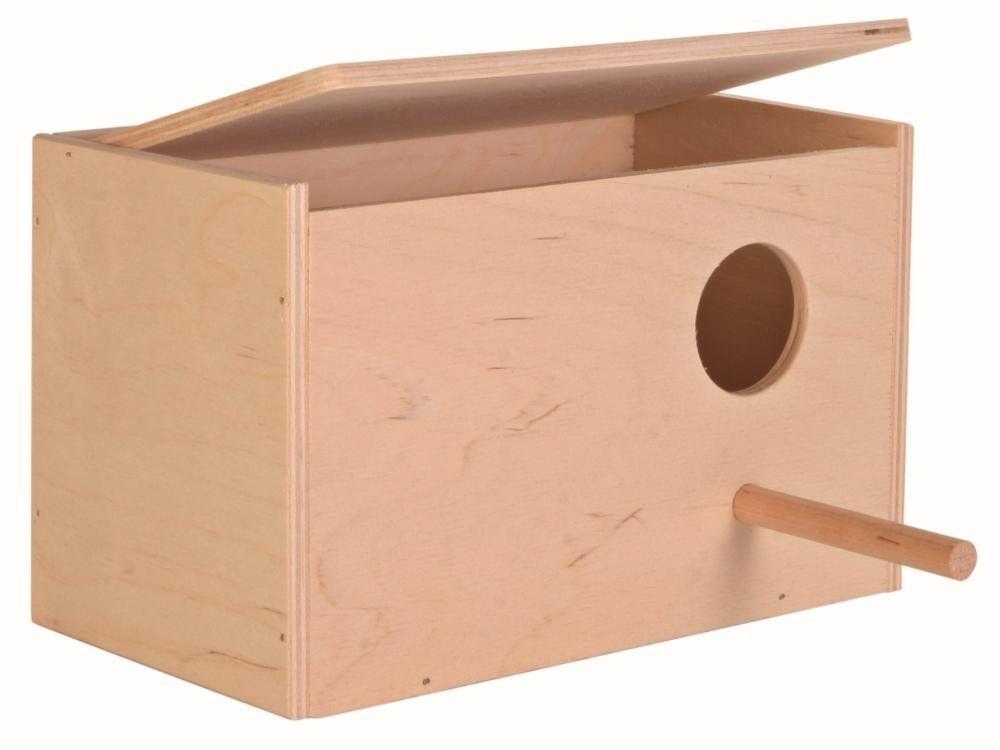 how to build a parakeet nesting box