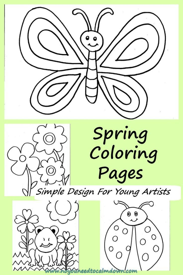 Coloring Pages for Kids - Free Printables | Kids! | Pinterest | Free ...