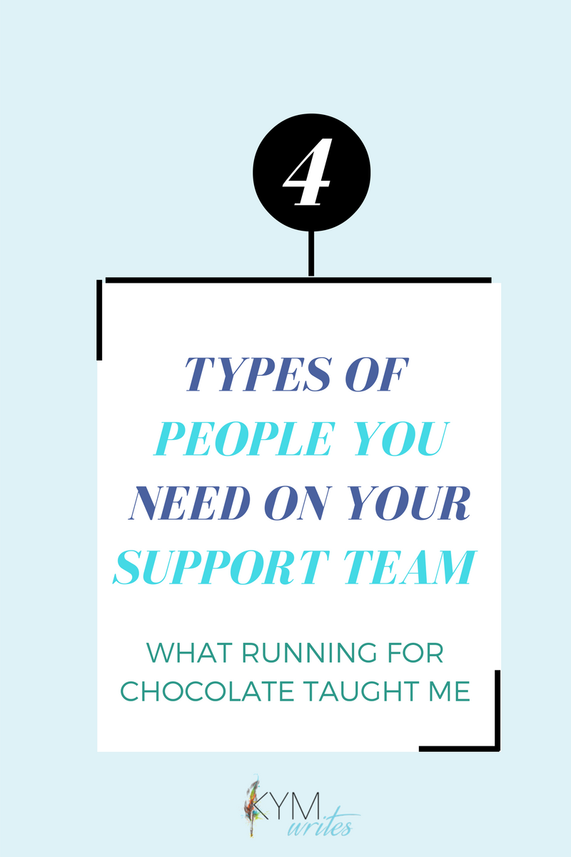 Build your support team. Squad goals. Build your community and tribe.