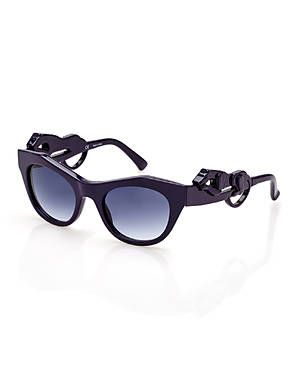 047d58832f01 GIVENCHY SGV782 Purple Panther Cat Eye Sunglasses | If I was a rich ...