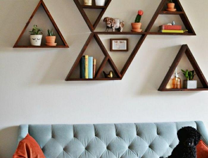 Comment décorer le mur avec une belle étagère murale?