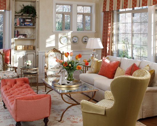 Traditional With Popping Colours Living Room Colors Gold Living Room Living Room Remodel