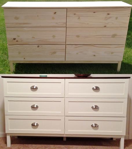 ikea tarva dresser hack. Tarva Hack - Add Trim To Make Shaker Style Drawer Details. Ikea Dresser