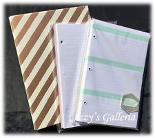 TARGET One Spot Dollar Gold Planner Binder Set For Condren Kate Spade Kikki K