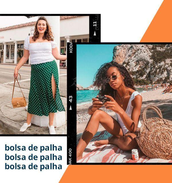 Amaka Hamelijnck Kristina Zias – bolsa de paja – paja – verano – estilo callejero …