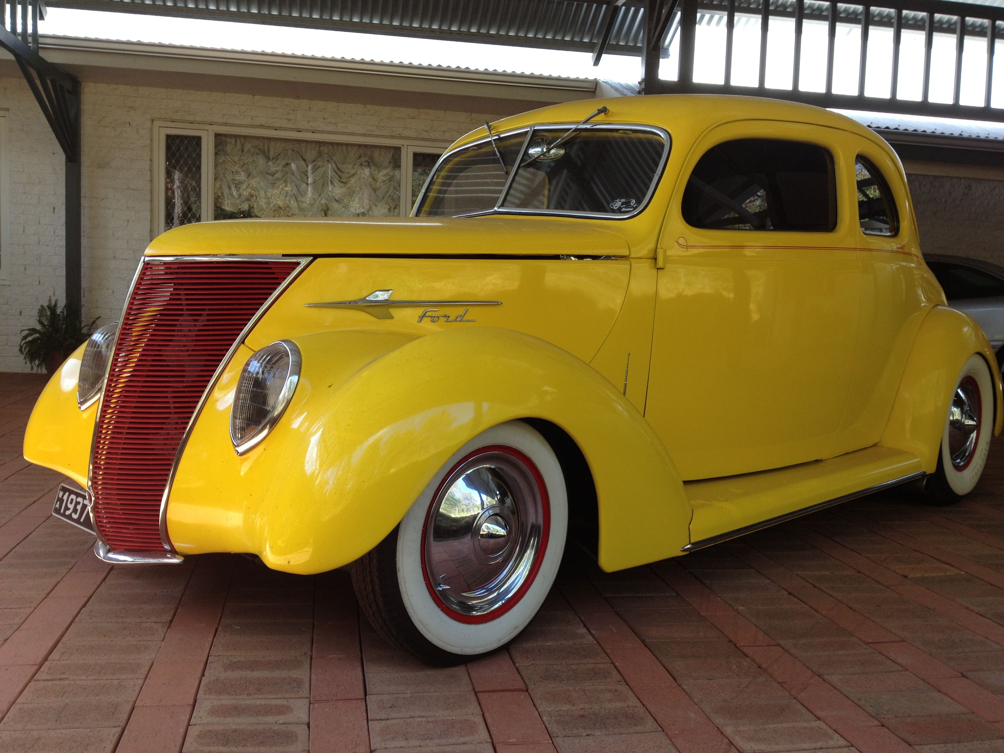 1937 Ford Coupe Hotrod since 1977 Australia in 2017