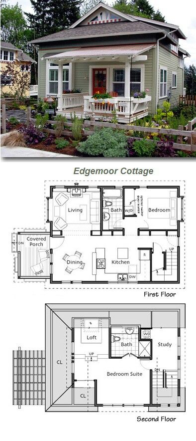 casa pequena cottage floor planstiny - Small Cottage House Plans