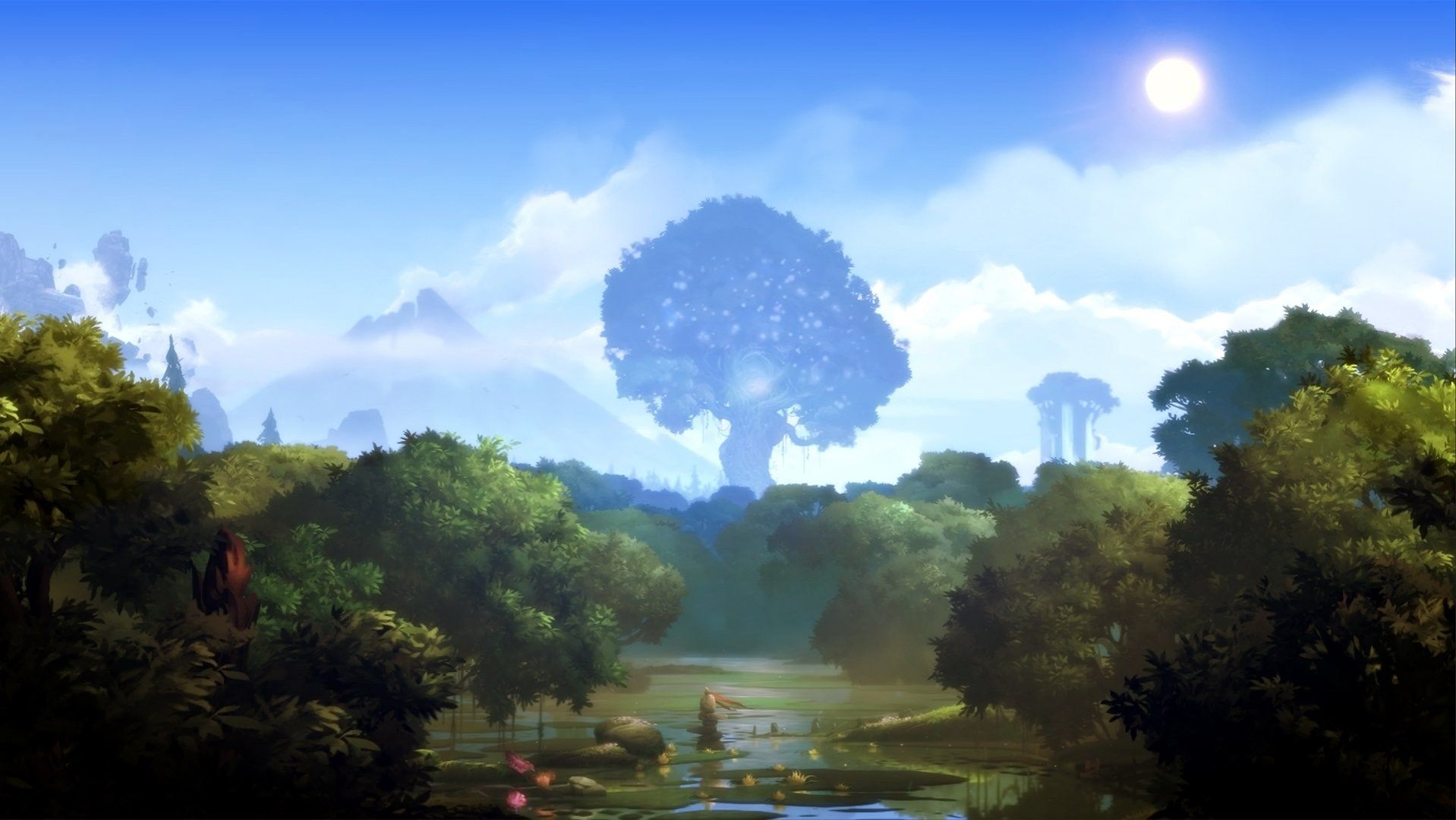 Ori And The Blind Forest Wallpapers ギミック 森 風景