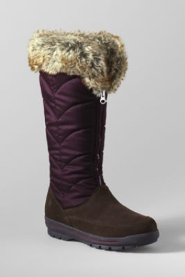Women's Powder Run Boots from Lands' End    Love thus for trips to Colorado to see Lauren and Nick this winter. Let it snow