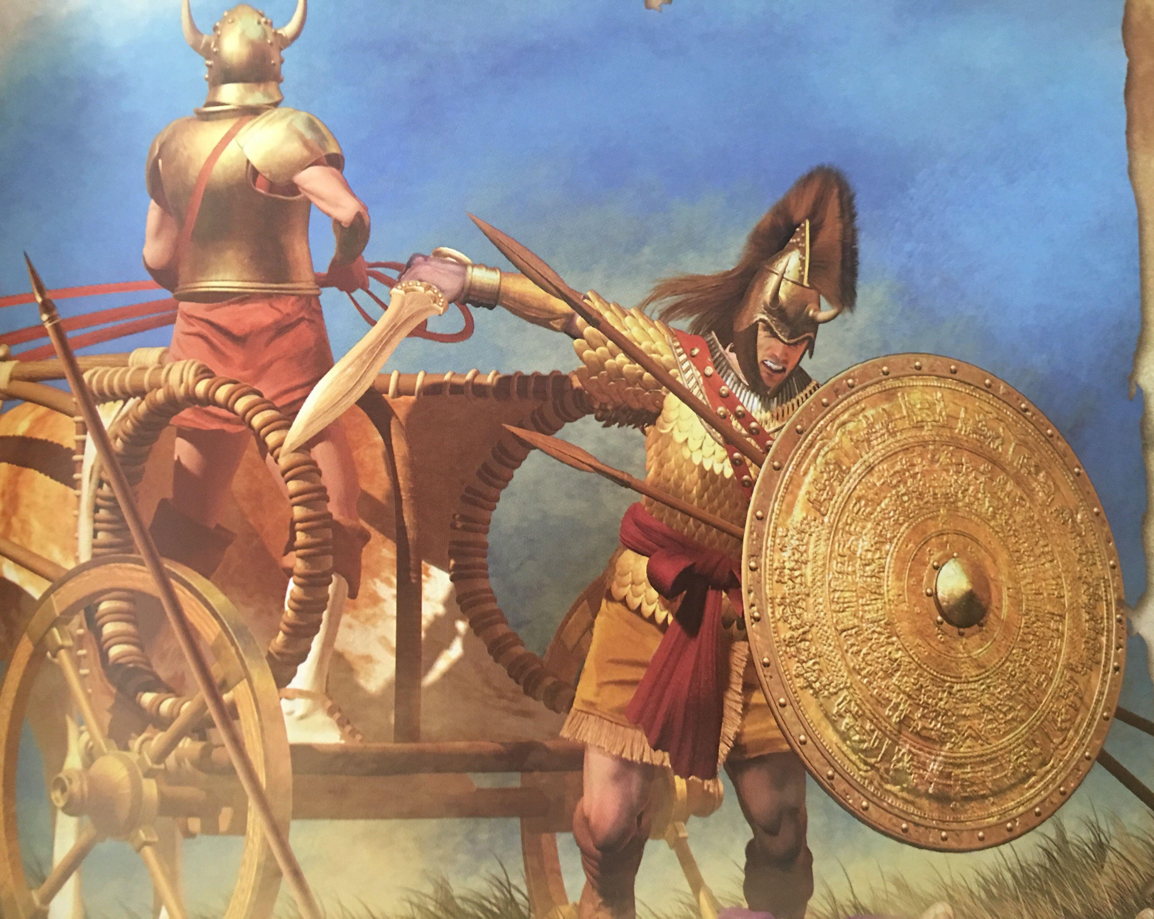 время актрису микенские воины в картинках диком