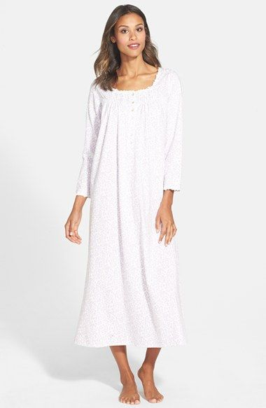 Eileen West 'Giardino' Jersey Ballet Nightgown available at #Nordstrom