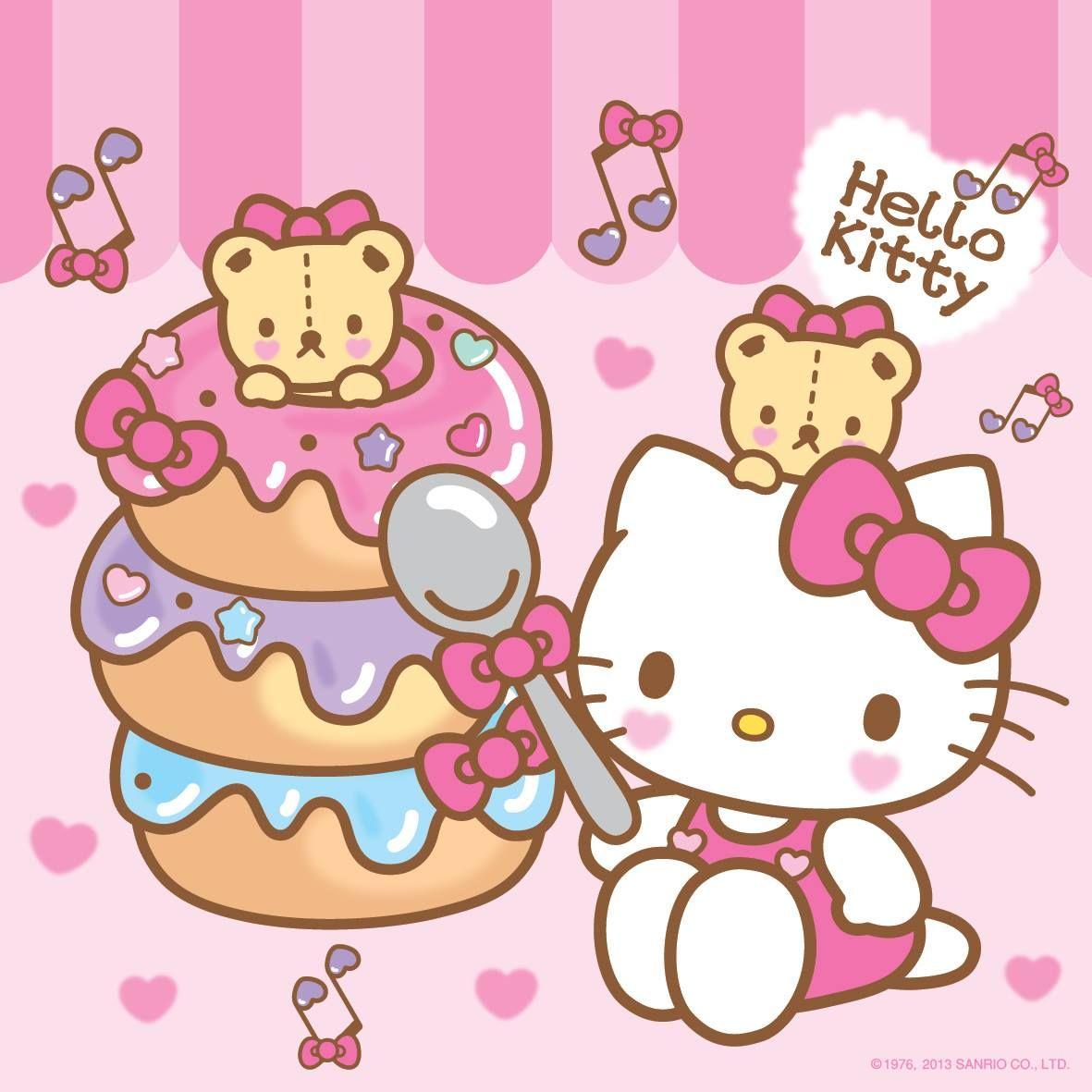 Hello Kitty Donuts Sanrio Hello Kitty Sanrio Hello Kitty Kitty