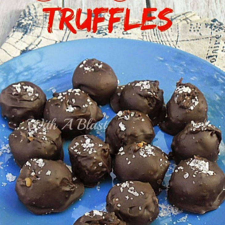 Salted Caramel Truffles Recipe Desserts With Sweetened Condensed Milk Butter Treacle Syrup Dark Chocolate Co Caramel Truffle Caramel Recipes Truffle Recipe