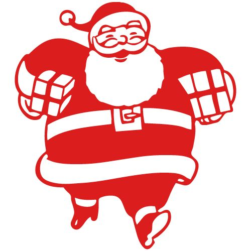 santa clip art santa claus clipart pinterest santa and rh pinterest com santa hat clipart black and white santa claus face clipart black and white
