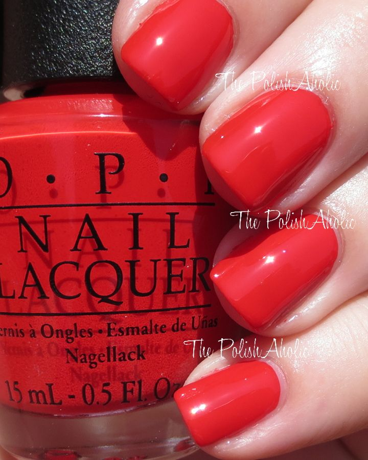 Opi Coca Cola Nail Polish Collection Partial: OPI Coca-Cola Red I'm DYING. I've Wanted Coke Red On My